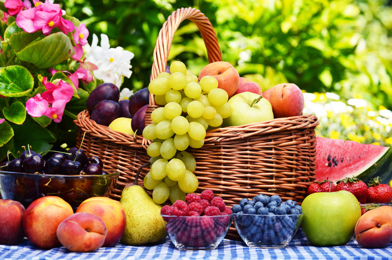 Table of Fruits