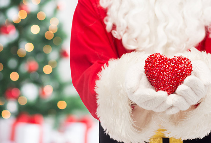 Charity on Christmas