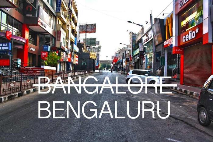 Name Bengaluru
