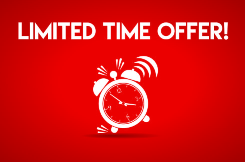 Avoid limited period offer